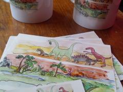 Dinosaures illustrations
