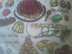 illustration sur tissu