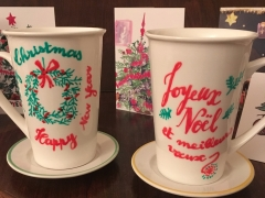 mugs de Noël