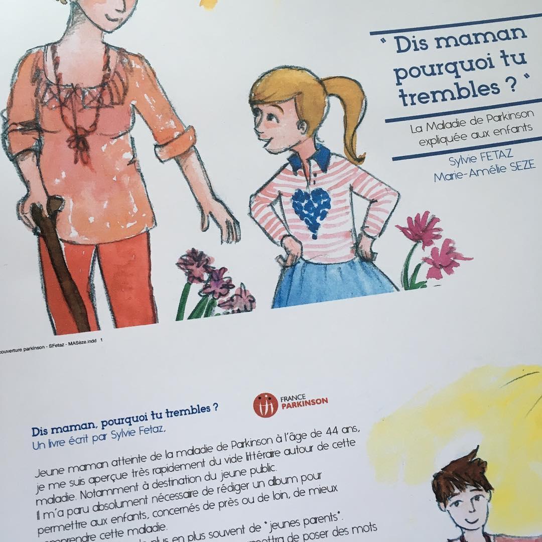 dis maman, pourquoi tu trembles ? livre jeunesse Parkinson DR