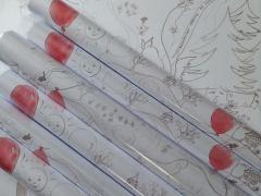 posters à colorier Le petit chaperon rouge - DR MA Garo