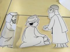 illustration biblique pour Noël : les rois mages. DR M-A;Garo
